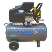 HM2050B/50L Stager Compresor ,putere motor 1.5 kW , capacitate rezervor 200L