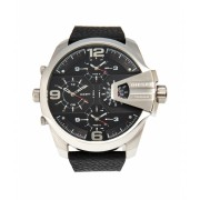 Diesel DZ7376 Silver-Tone Black Watch 6
