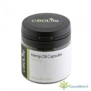 CBDLife Boite de 30 Capsules de 10 mg de CBD (Cannabidiol) de CBDLife