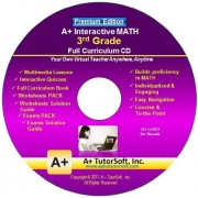 3rd Grade Math Full Curriculum Sw Cd Premium Edition (Windows Pc Video Lessons, Interactive Review, Worksheets, Tests, Grading N Tracking) Homeschooling Or Classroom