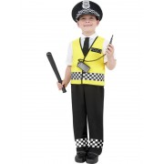 Childs Police Boy Costume - LARGE