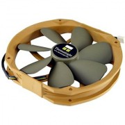 Thermalright TY-141 140 mm 2 ball bearing fan low noise emission.
