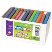 Chenille Kraft Company CKC338000 Glitter Glue Pens-Resealable-Assorted