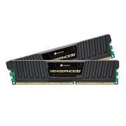 Corsair CML16GX3M2A1866C10 Vengeance Low Profile Memoria per Desktop a Elevate Prestazioni da 16 GB (2x8 GB), DDR3, 1866 MHz, CL10, con Supporto XMP, Nero