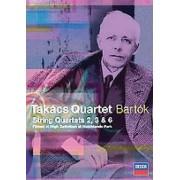 B Bartok - String Quartets 2, 3 & 6 (0044007431412) (1 DVD)