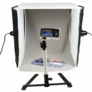Hakutatz SSL-735 22W - cub foto 40cm cu 2 lumini si suport iphone RS125011409-1