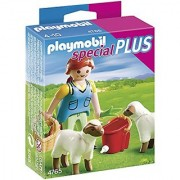 PLAYMOBIL Country Woman with Sheep Feed