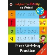First Writing Practice: Ladybird I'm Ready to Write Sticker Activity Book by Ladybird