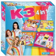 K3 Spel (4 in 1)