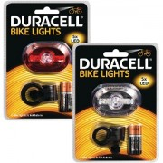 Duracell 5 LED Front & Rear Bicycle Light Set (BUN0046A)