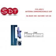 CVX-450/3 ANTENNA OMNIDIREZIONALE UHF DA BASE 440~460 MHZ 165 CM