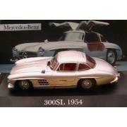 Mercedes-Benz 300 Sl Papillon 1954 Ixo 1/43 Grise Grey-Altaya