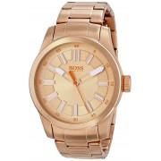 Hugo Boss Orange Men's 1512993 Paris Analog Rose Gold Watch