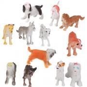 12pcs Juguetes Modelo de Animales Salvajes de Plástico Juguetes Plásticos