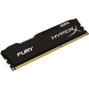 Memorie Kingston HyperX FURY Black Series DDR4, 1x8GB, 2400 MHz, Cl 15, Single Rank