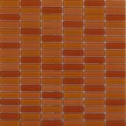 Maxwhite ASHS4-3 Mozaika skleněná oranžová mix 29,7x29,7cm