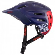 O'Neal - Defender Helmet - Radhelm Gr L lila/blau/schwarz/grau
