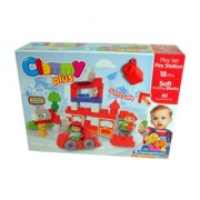 Clemmy Plus Play-set Vatrogasna stanica 22840