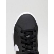 Nike Court Royale Trainers In Black And White - Multi