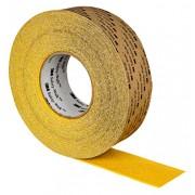 3M Safety-Walk Tira Antideslizante Alta Agresividad- Conformable Amarillo (51 mm x 18.3 m, Caja de 2)