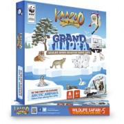 Kaadoo Wildlife Safari Board Game-Grand Tundra-Arctic Circle Edition - Fun n' Educational game for family n' kids 6+yrs