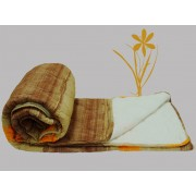 Prekrivač Krep-streč frotir braon, drap, narandžasta - Stefan