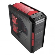Aerocool XPredator X3 Case Big Tower per PC, Rosso
