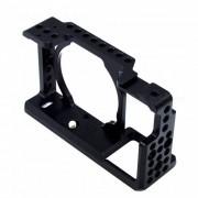 VELEDG Protector estabilizador de jaula para camara Sony A6000 - Negro