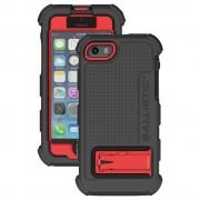 AGF Ballistic Hard Core® - най-висока степен на защита за iPhone 5, iPhone 5S, iPhone SE (черен-червен)