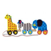 Pull-Along Zoo Animals: Classic Toys