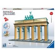 Ravensburger 3D Puzzles Brandenburg Gate Berlin, Multi Color (324 Pieces)