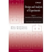 Design and Analysis of Experiments by Oscar Kempthorne