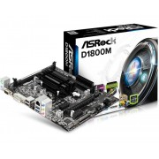 ASRock D1800B Intel Dual-Core J1800 Vga Dvi-D Hdmi 5.1 Ch Hd Audio Mic