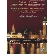 7 Classical Favorites Arranged for Two Pianos, Eight Hands by Virginia Speiden Carper