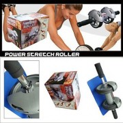 Powerstretch AB Wheel Roller Exercise Fitness Slim Body Roller Power Stretch
