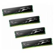 Memorie G.Skill ECO 8GB (4x2GB) DDR3, 1600MHz, PC3-12800, CL9, Dual Channel, Quad Kit, F3-12800CL9Q-8GBECO