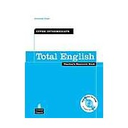 Total English Upper Intermediate Level Teacher's Resource Book and Test Master CD-ROM Pack