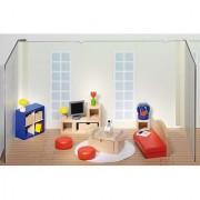 Goki Doll Furniture Living Room (28 Piece)