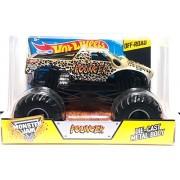 Hot Wheels Pouncer Monster Jam Truck Off Road Die Cast Metal Body 1:24 2015