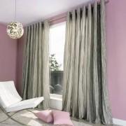 """Vorhang """"Brenda"""", 1 Vorhang, 242 x 245 cm - Platin"""