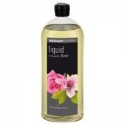 Săpun lichid si gel de dus din uleiuri bio -Trandafir Romantic 1L