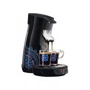 Philips HD7826/21 Machine à Dosettes SENSEO Viva Café Noir, Edition Limitée Matt W Moore, 2 Tasses Inclues