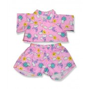 "Pink Pjs - 8000 Fits 15"" - 16"" bears, includes Build a Bear, The Bear Mill, and Stuff your own Animals."