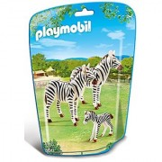 PLAYMOBIL Zebra Family Building Kit