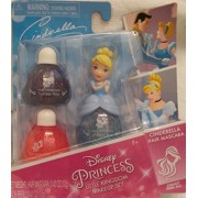 Disney Princess Little Kingdom Makeup Sets (Cinderella Hair Mascara - Bibbidy Blue) by Disney Princess
