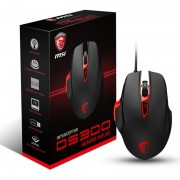 Mouse, MSI Interceptor DS300, Gaming, USB, Black