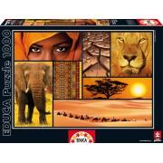 Educa Puzzle Colours of Afric 1000 de piese 16293 colorat