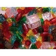 Lego 200 Plus Clear Trans Colors Car Lights Train Bulk Orange Yellow Green Lot