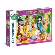 Clementoni - 26921.1 - Puzzle Super Color - 60 Pièces - Fairies