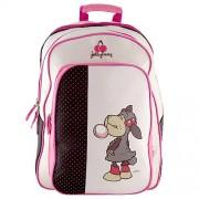 NICI 16561 Children's Backpack, White/ Black/ Red